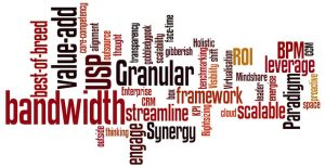 Jargon wordcloud by Gavin Llewellyn